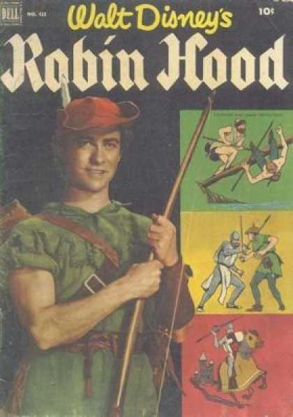 Four Color 413 - Walt Disney - Dell - Robin Hood - 10 Cents - Horse