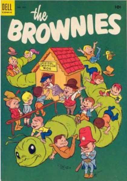 Four Color 482 - Brownies - Dell - 10cent - Child - Worm
