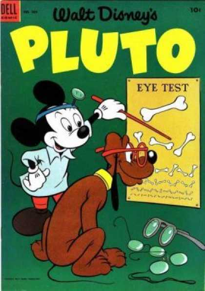 Four Color 509 - Mouse - Dog - Eye Test - Bones - Glasses