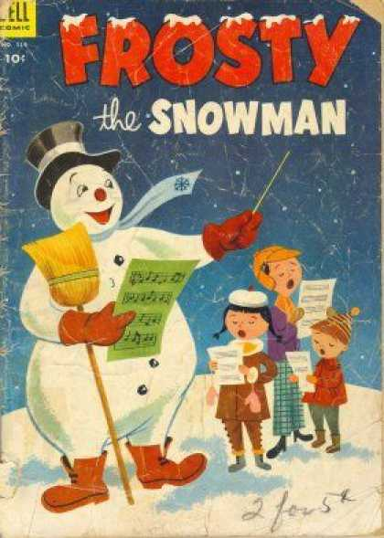 Four Color 514 - Dell - Frosty The Snowman - Holiday - Christmas - Caroling