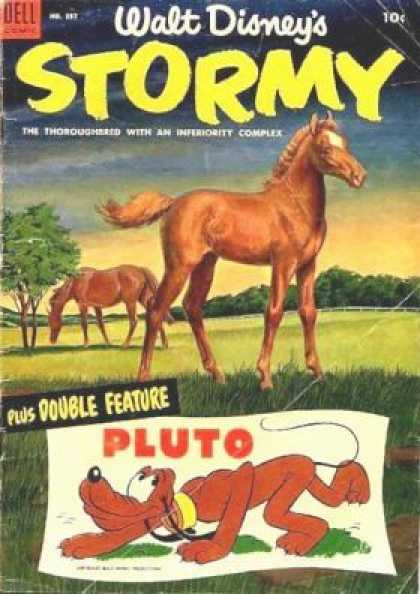 Four Color 537 - Horse - Pasture - Dog - Pluto - Grass