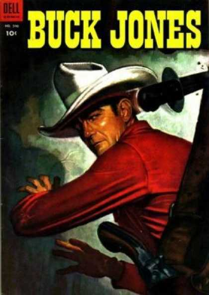 Four Color 546 - Dell - Buck Jones - Cowboy - Gun - Hat