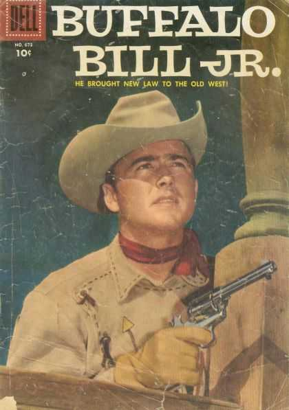 Four Color 673 - Buffalo - Bill - Jr - Dell - West