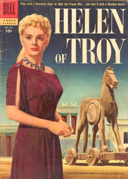 Four Color 684 - Helen - Troy - Wooden Horse - Blonde Hair - Rome