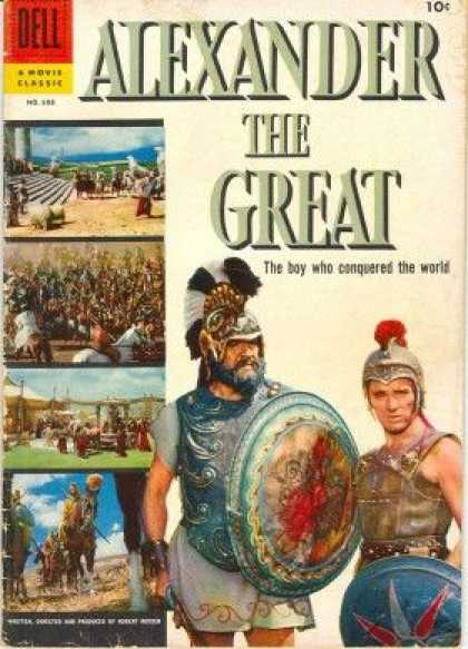 Four Color 688 - Dell - Alexander The Great - Helmets - Armor - The Boy Who Conquered The World