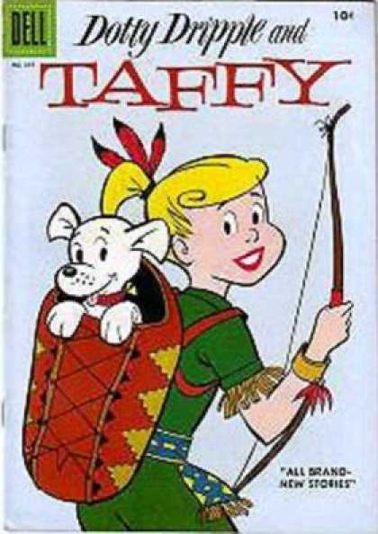 Four Color 691 - Taffy - Dotty Dripple - Hunting - Bow - Indian