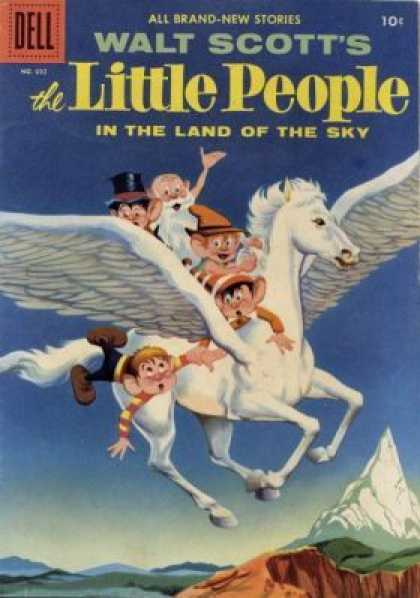 Four Color 692 - Little People - Walt Scott - Land Of The Sky - Brand New Stories - Pegasus