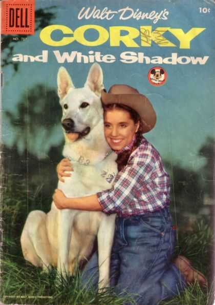 Four Color 707 - Cowgirl And Dog - The White Dog - Me And My Friend - Well Never Be Lost - Thanks For Everything