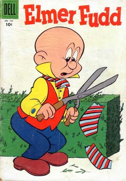 Four Color 725 - Elmer Fudd - Hedge - Clippers - Tie - Dell