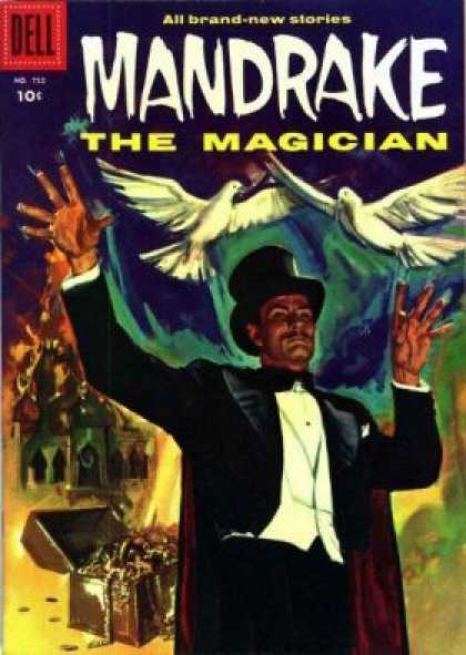 Four Color 752 - The Magician - Mandrake - Magic - Dell - New Stories