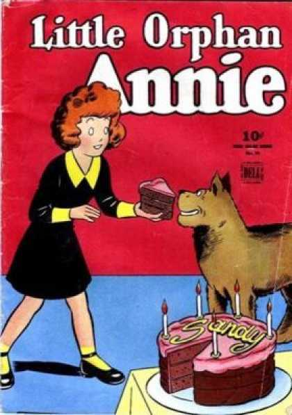 Four Color 76 - Little Orphan - Annie - Dog - Cake - Birthday
