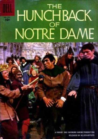 Four Color 854 - Dell - The Hunch Back - Notre Dame - Men - Woman