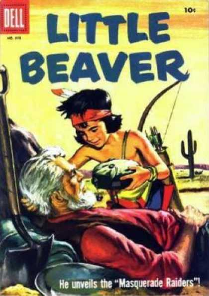 Four Color 870 - Little Beaver - Indian - Canteen - Cactus - Masquerade Raiders