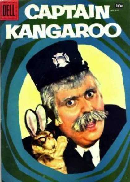 Four Color 872 - Captain Kangaroo - Dell - Moose - Bunny Rabbit - Green Jeans