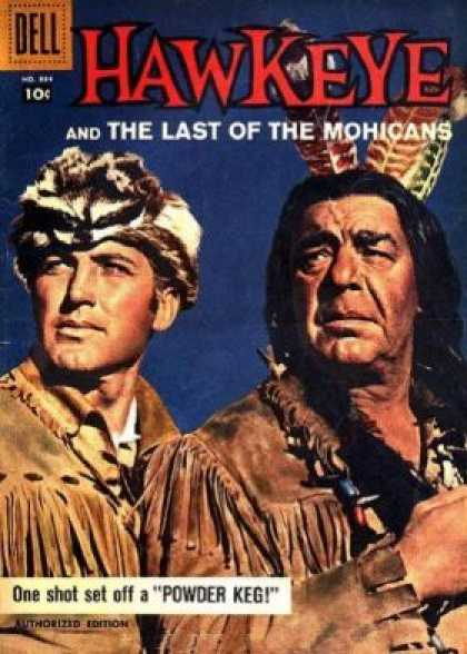 Four Color 884 - Last Of The Mohicans - Coon Cap - Indian - Hawkeye - Powder Keg