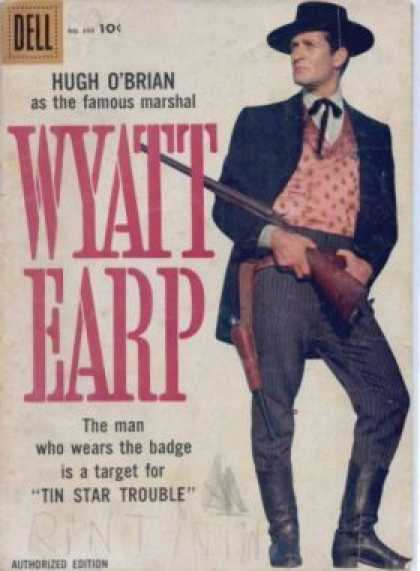 Four Color 890 - Wyatt Earp - Cowboy - Rifle - Badge - Boots