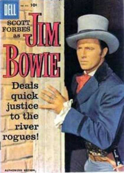 Four Color 893 - Jim Bowie - Gun - Doorway - Ruffled Sleeve - Justice