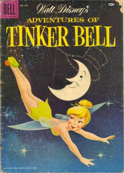 Four Color 896 - Walt Disneys - Adventures Of Tinker Bell - Dell - Moon - Fairy