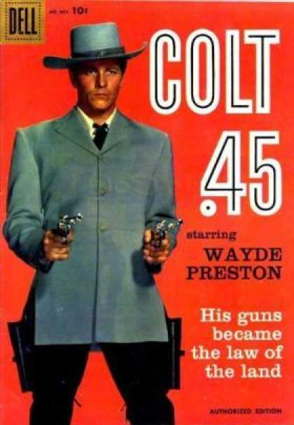 Four Color 924 - Colt 45 - Dell - Wayde Preston - Guns - Weapon