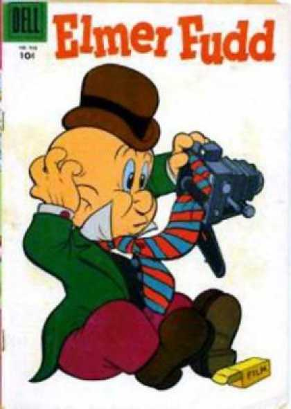 Four Color 938 - Elmer Fudd - Dell - Camera - 10cent - Confused