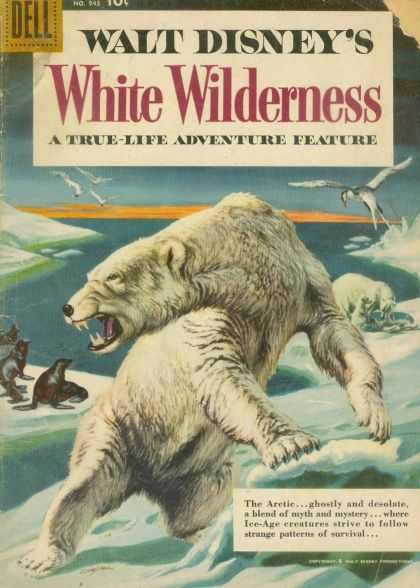 Four Color 943 - Disney - White Wilderness - Polar Bears - Sea Lions - Ice