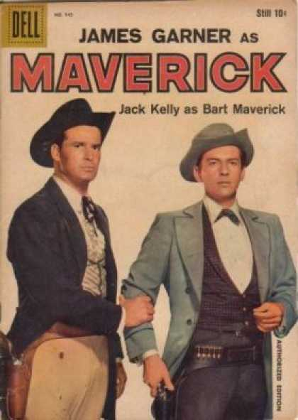 Four Color 945 - James Garner - Maverick - Jack Kelly - Cowboy - Gunslinger