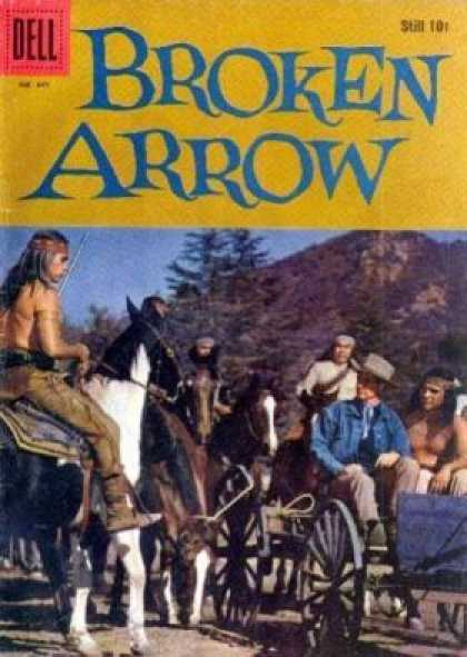 Four Color 947 - Broken Arrow - Dell - Cowboys And Indians - Native Americans