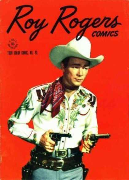 Four Color 95 - Roy Rogers - Comics - Hat - Cowboy - Gun