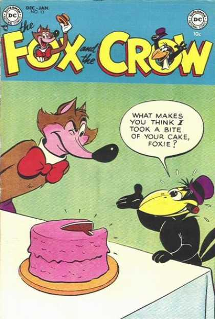 Fox and the Crow 13 - Cake - Foxie - Cigar - Bite - Mad