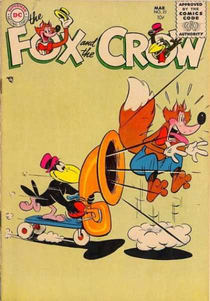 Fox and the Crow 23 - Crow - Fox - Song - Feathers - Tail
