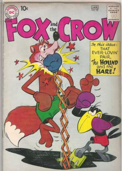 Fox and the Crow 59 - Gloves - Uppercut - Trap Door - Stars - Dc