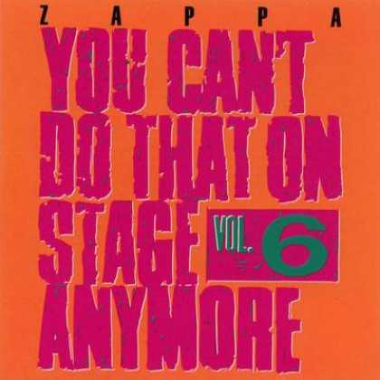 Frank Zappa - Frank Zappa You Cant Do That On Stage - Vol. 06