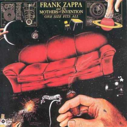 Frank Zappa - Frank Zappa One Size Fits All