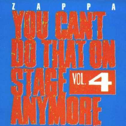 Frank Zappa - Frank Zappa You Can't Do That On Stage - Vol. 04