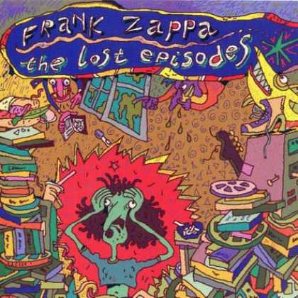 Frank Zappa - Frank Zappa The Lost Episodes