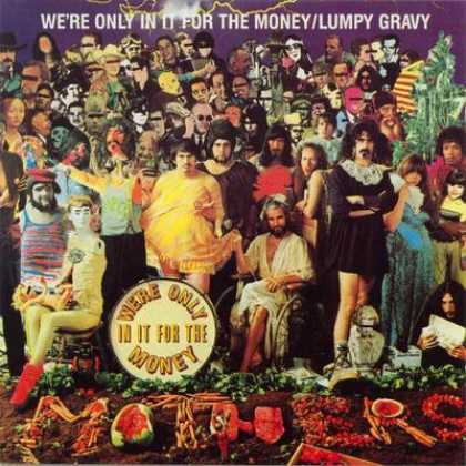 Frank Zappa - Frank Zappa Were Only In It For The Money - Lu...