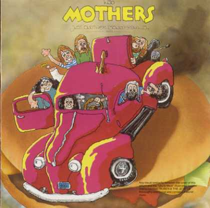 Frank Zappa - Frank Zappa And Mothers - Just Another Band Fr...