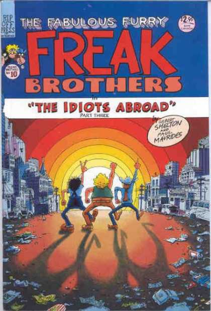 Freak Brothers 10