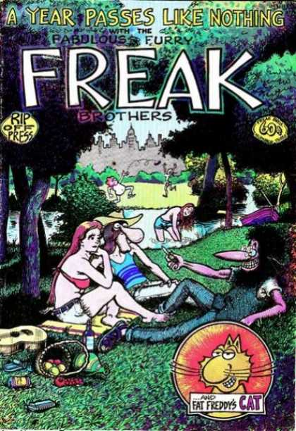 Freak Brothers 3 - Big Noses - Fat Freddys Cat - Rip Off Press - Fabulous Furry - People