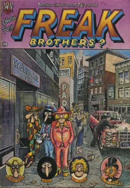Freak Brothers 4