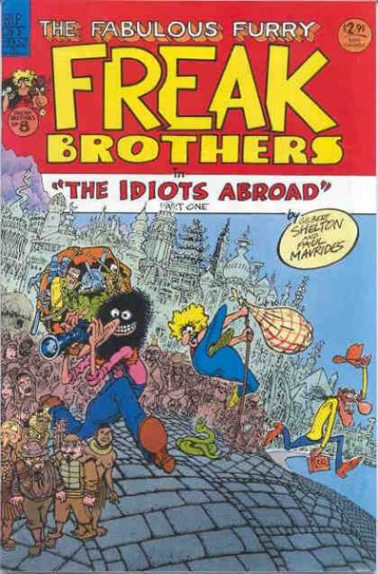 Freak Brothers 8