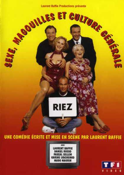 French DVDs - Sexe Magouilles Et Culture Generale