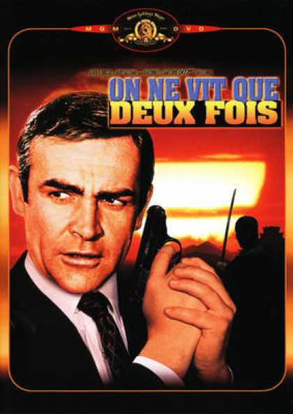 French DVDs - 007 On Ne Vit Que Deux Fois