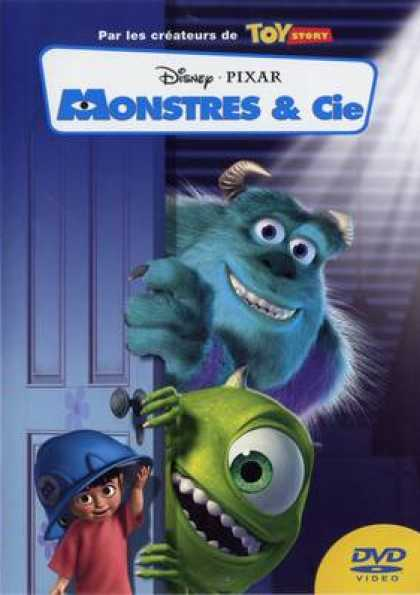 French DVDs - Monsters Inc