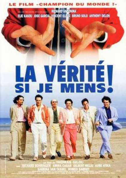 French DVDs - The Truth If I Lie