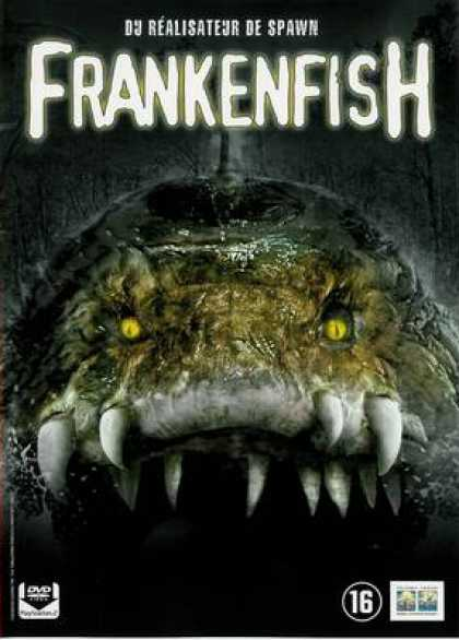 French DVDs - Frankenfish