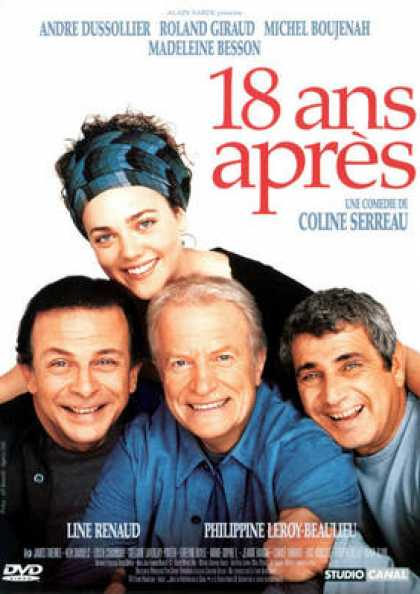 French DVDs - 18 Ans Apres