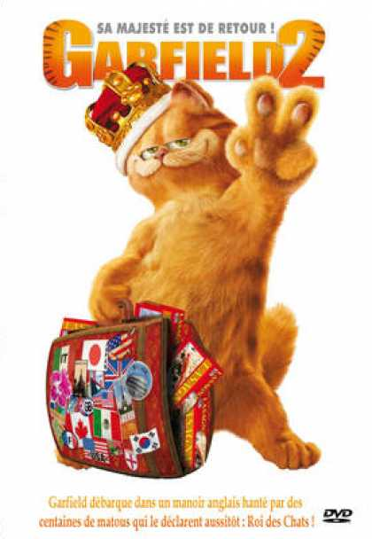 French DVDs - Garfield The Movie 2