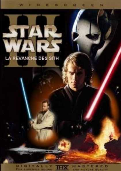 French DVDs - Star Wars Episode 3