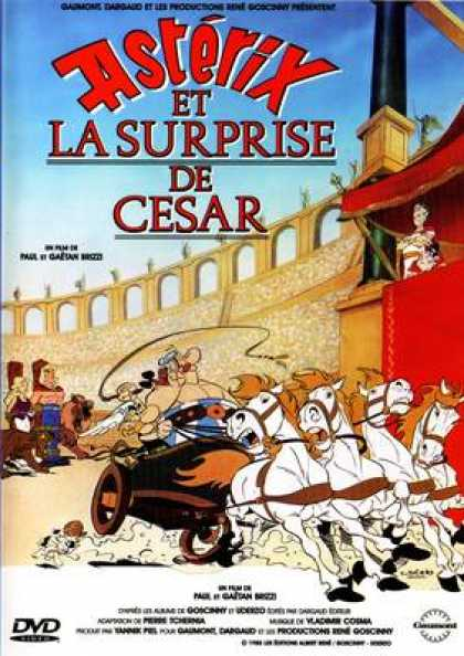 French DVDs - Asterix - Et La Surprise De Cesar